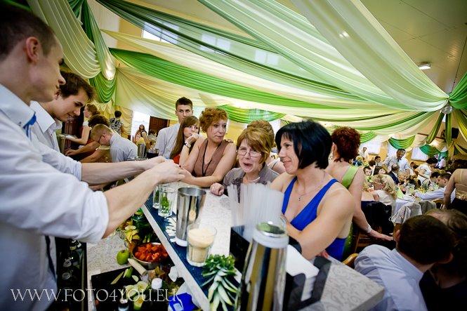 Barman na wesele - obsługa gości