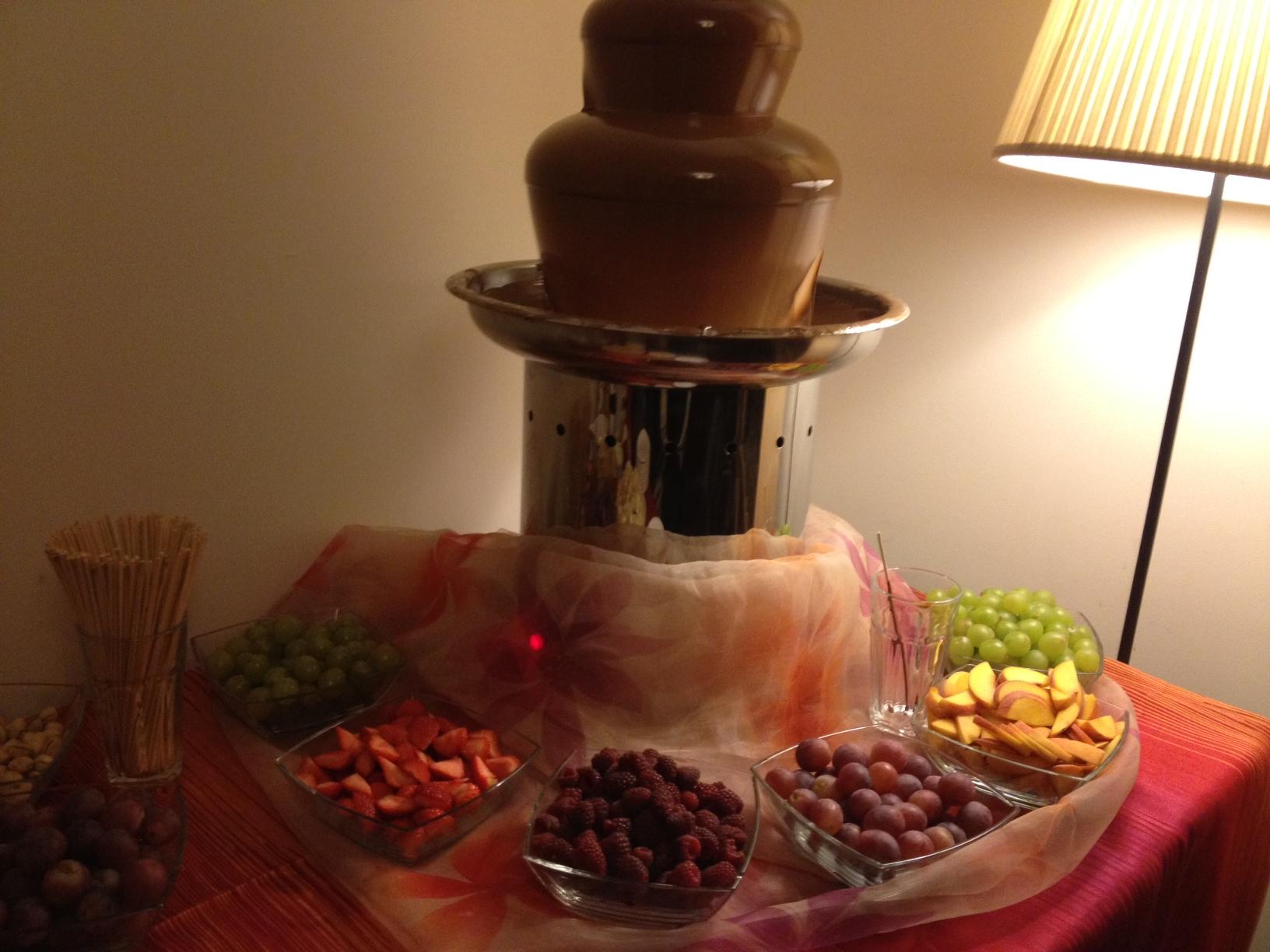 Fontanna Czekoladowa – Atrakcja na imprezę w domu