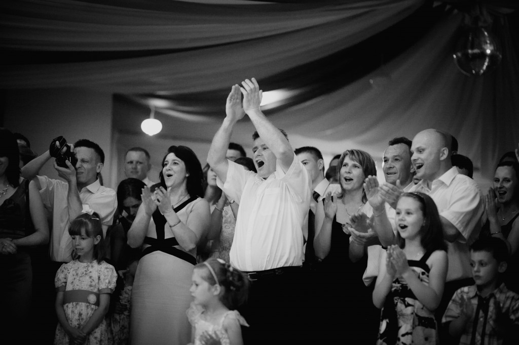 pokaz barmanski na wesele - reakcja gosci