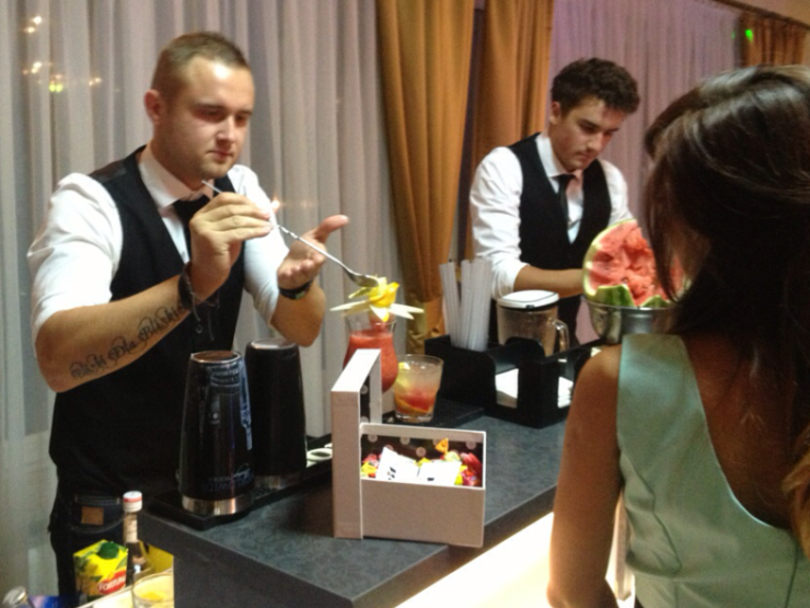 drink bar na weselu