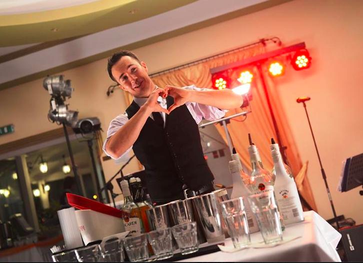 pokaz barmanski na walentynki